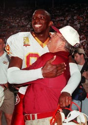 Wayne Messam was a member of Florida State's 1993 national championship team under legendary coach Bobby Bowden.