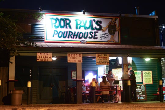 Poor Paul's Pourhouse, a staple of Tallahassee nightlife for over 40 years.
