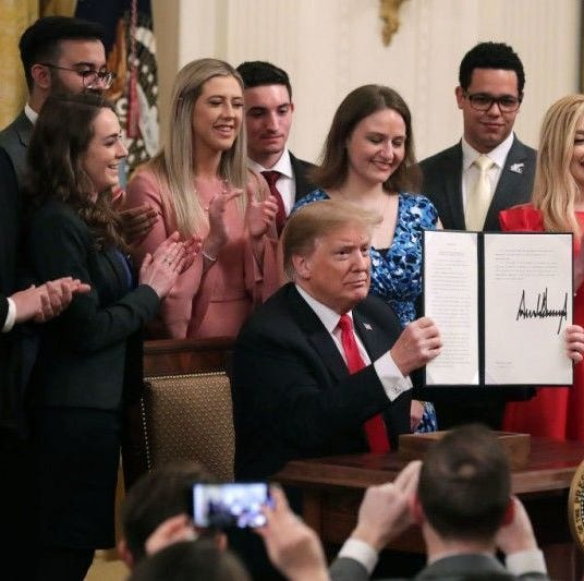 Student opinions vary on Trump's executive order protecting campus speech