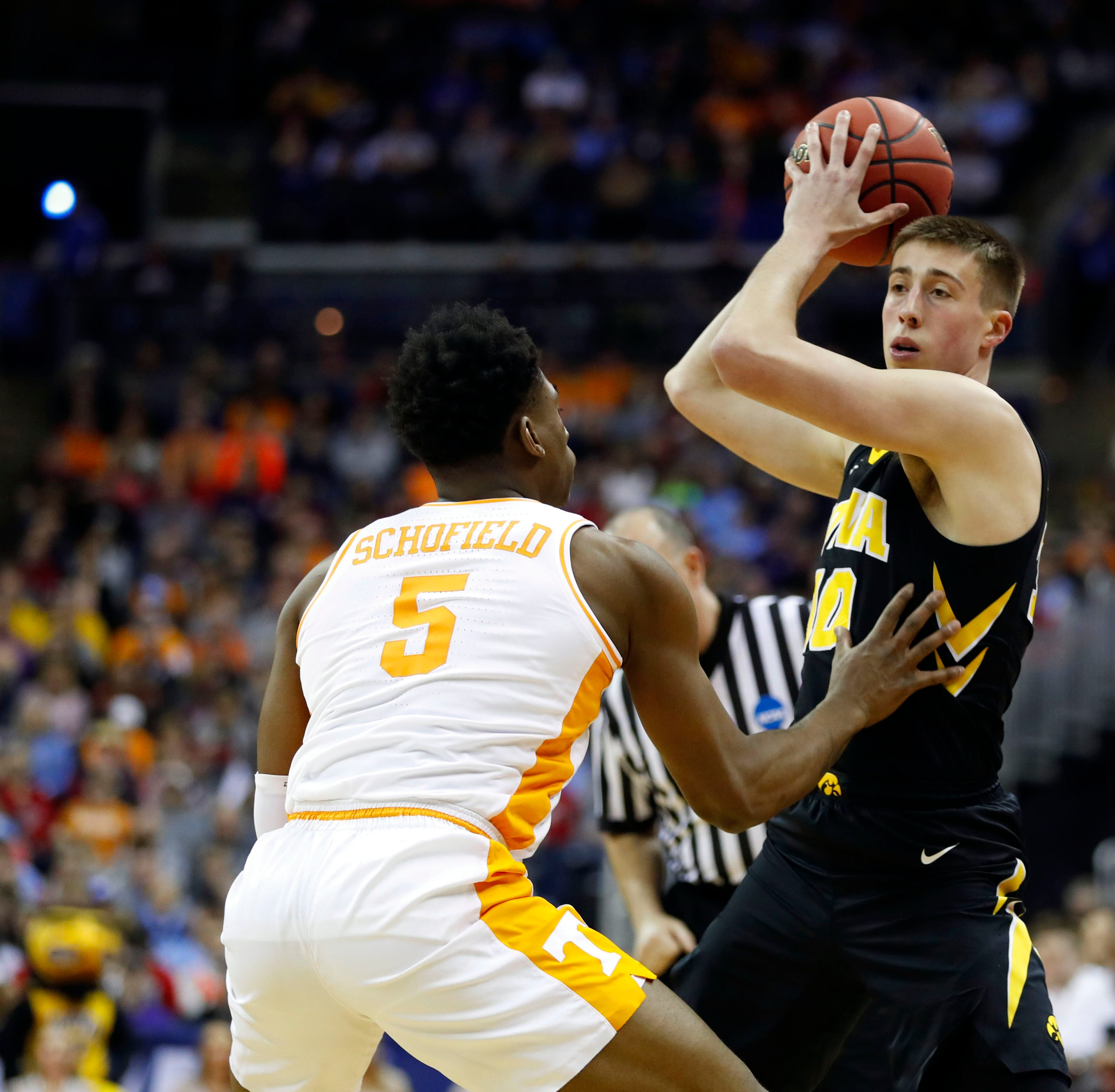 Iowa forward Joe Wieskamp will test NBA Draft process