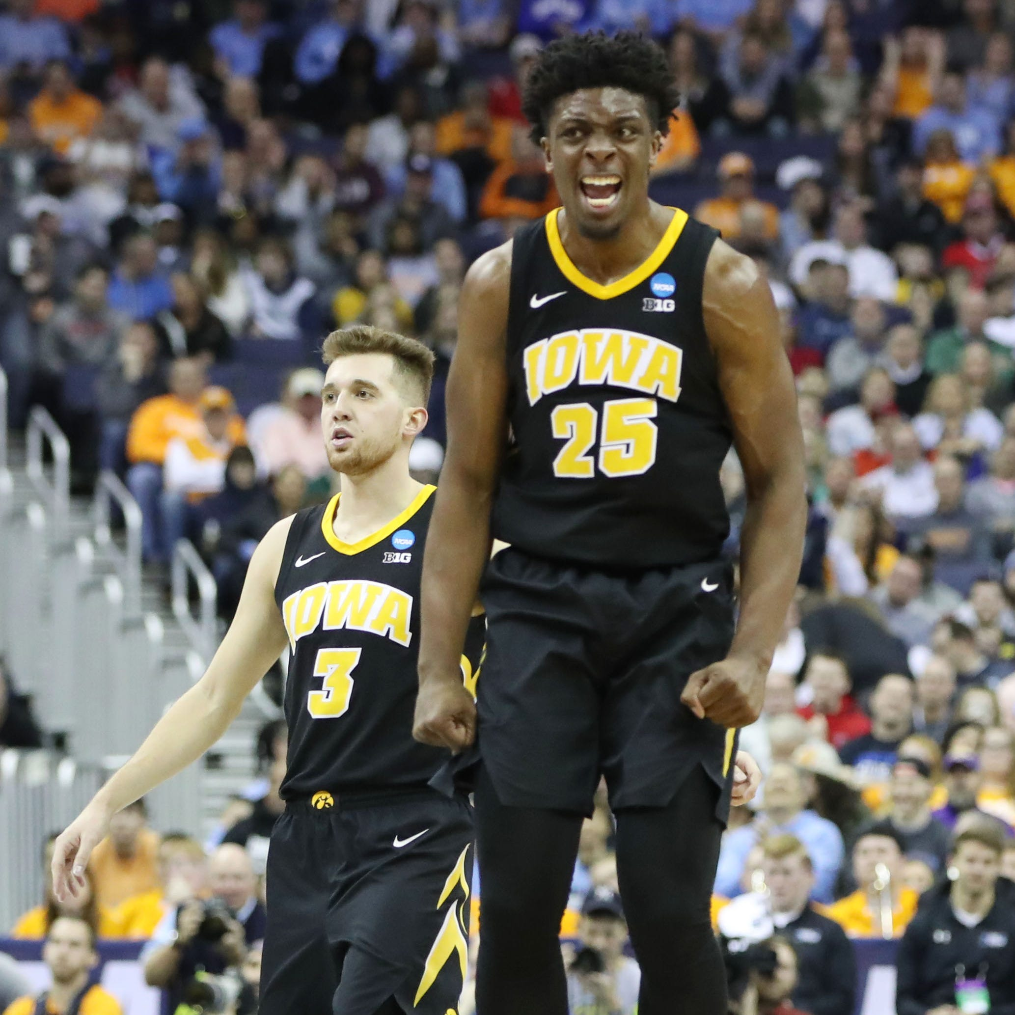 Tyler Cook's time as a Hawkeye comes to an end; he's entering NBA draft