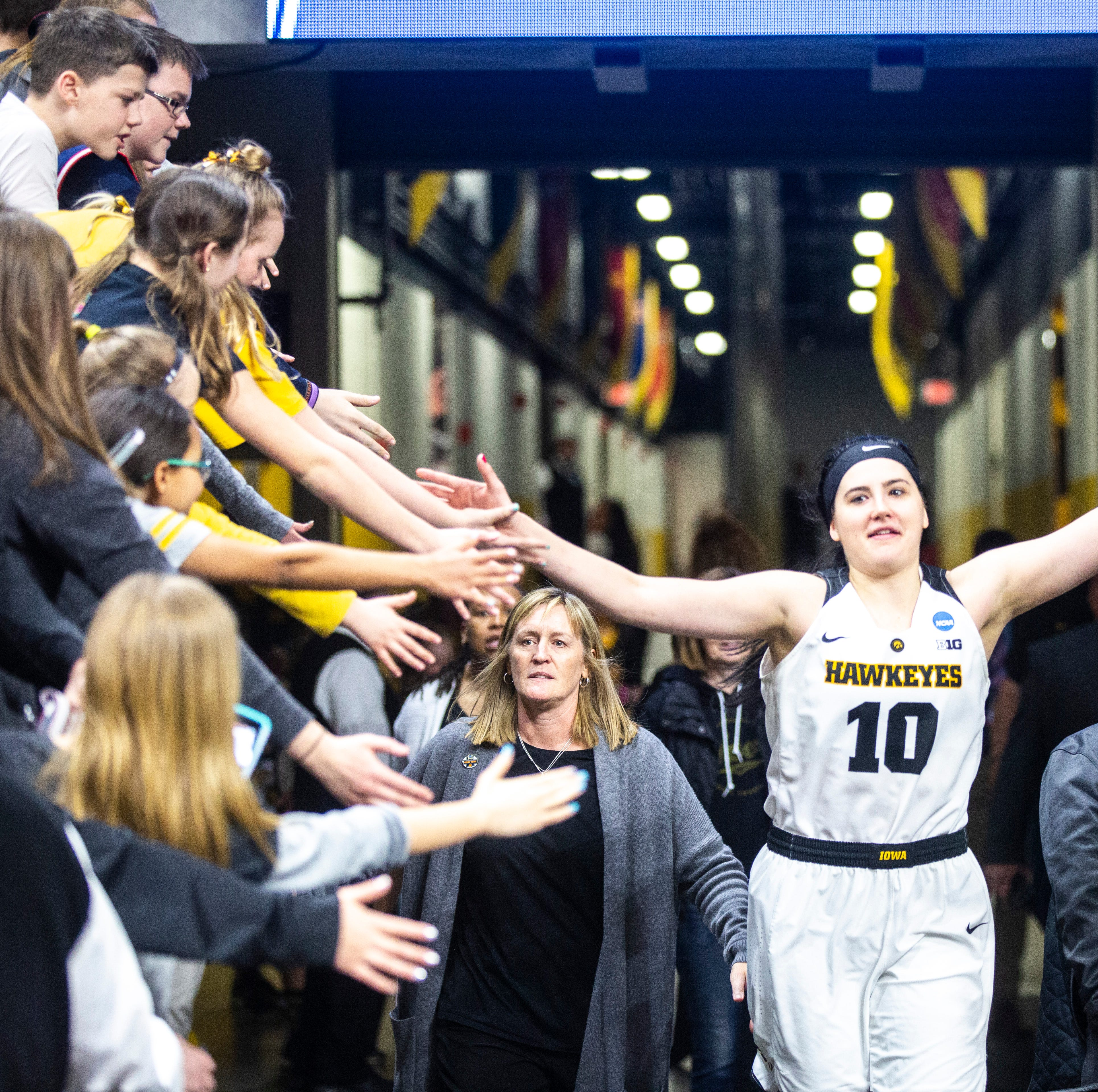 Dallas Wings CEO on Megan Gustafson: 'How she's led Iowa ... is very impressive'