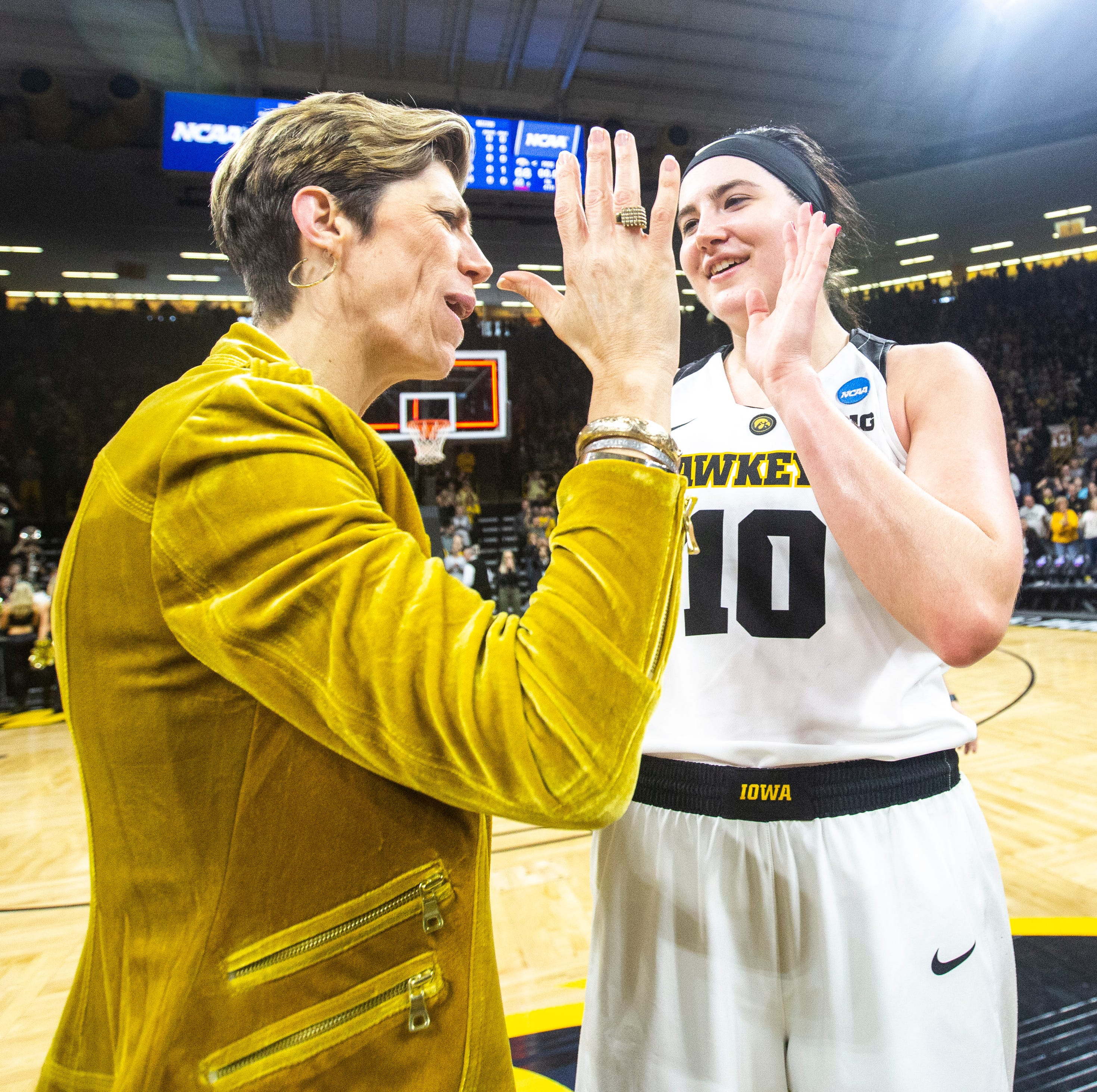 The awards keep coming for Iowa's Megan Gustafson: She's the AP player of the year
