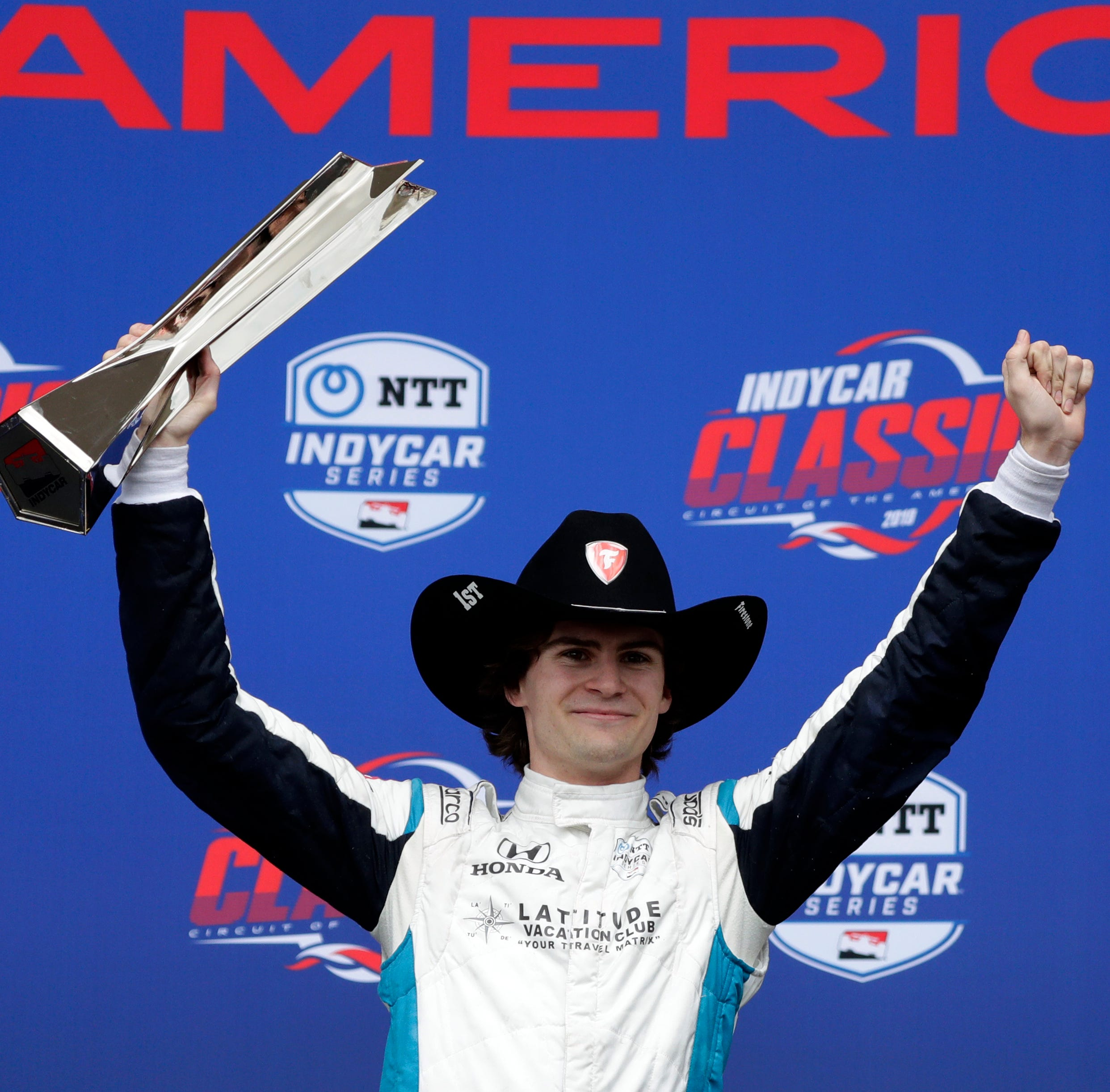 Insider: Herta, Steinbrenner, a couple of kids chasing a 'crazy' dream, make IndyCar history