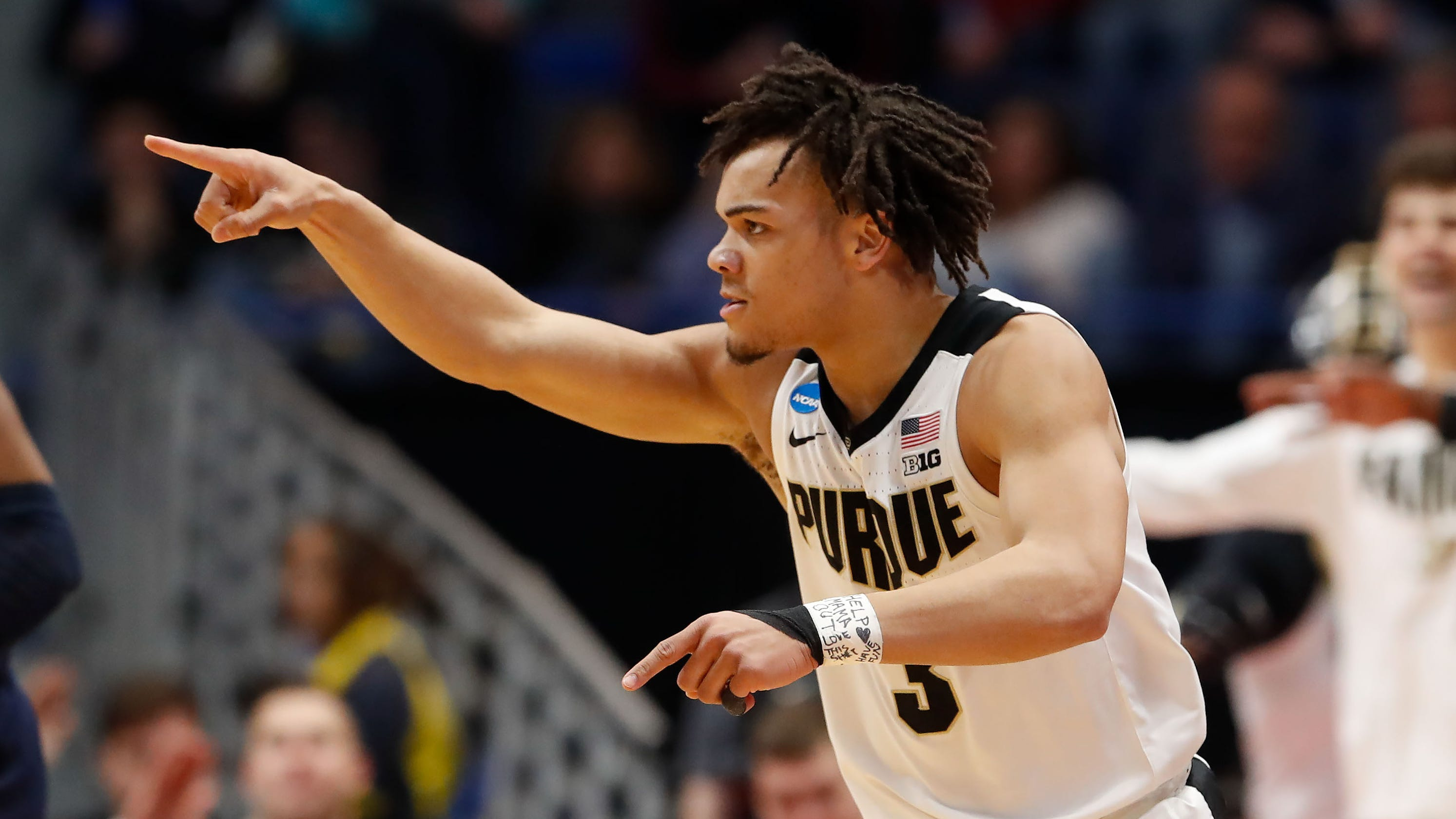 Carsen Edwards Ends Slump And Villanova Shooting Purdue Into Sweet 16