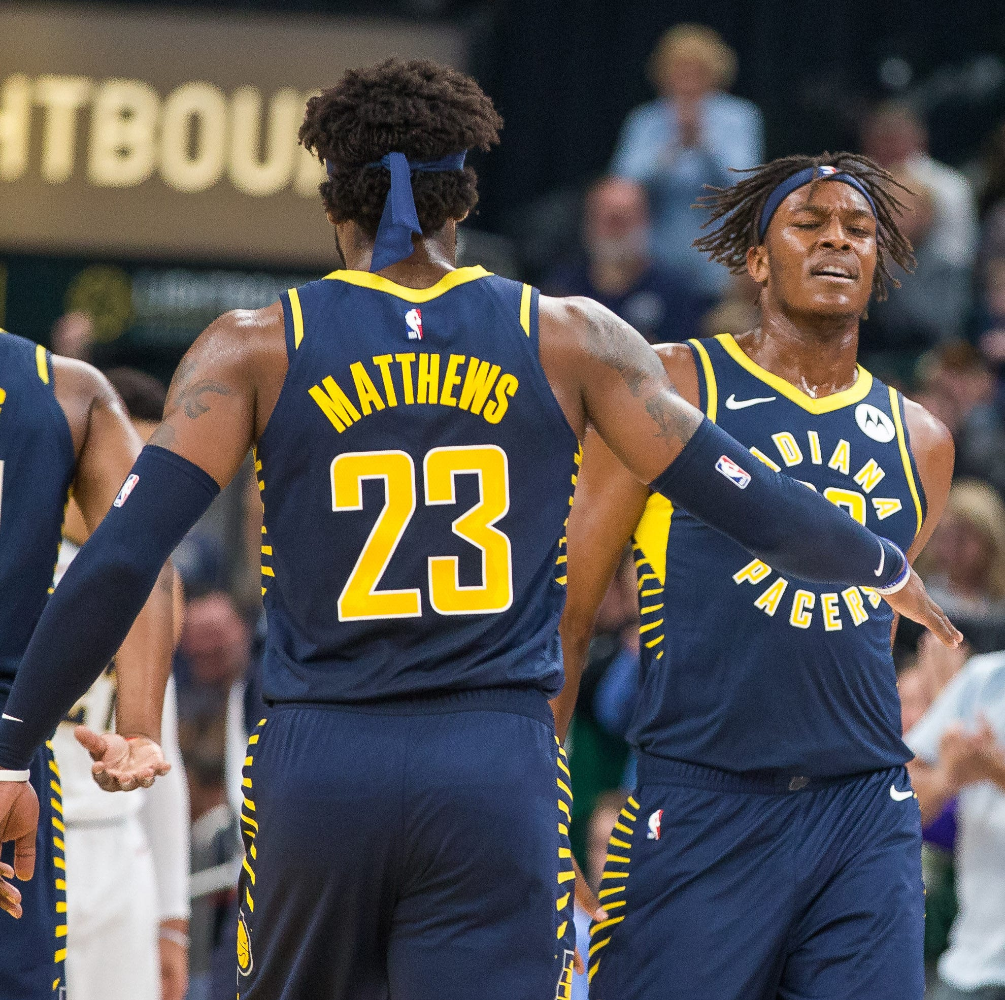 Pacers center Myles Turner celebrates birthday with strong first half against Denver