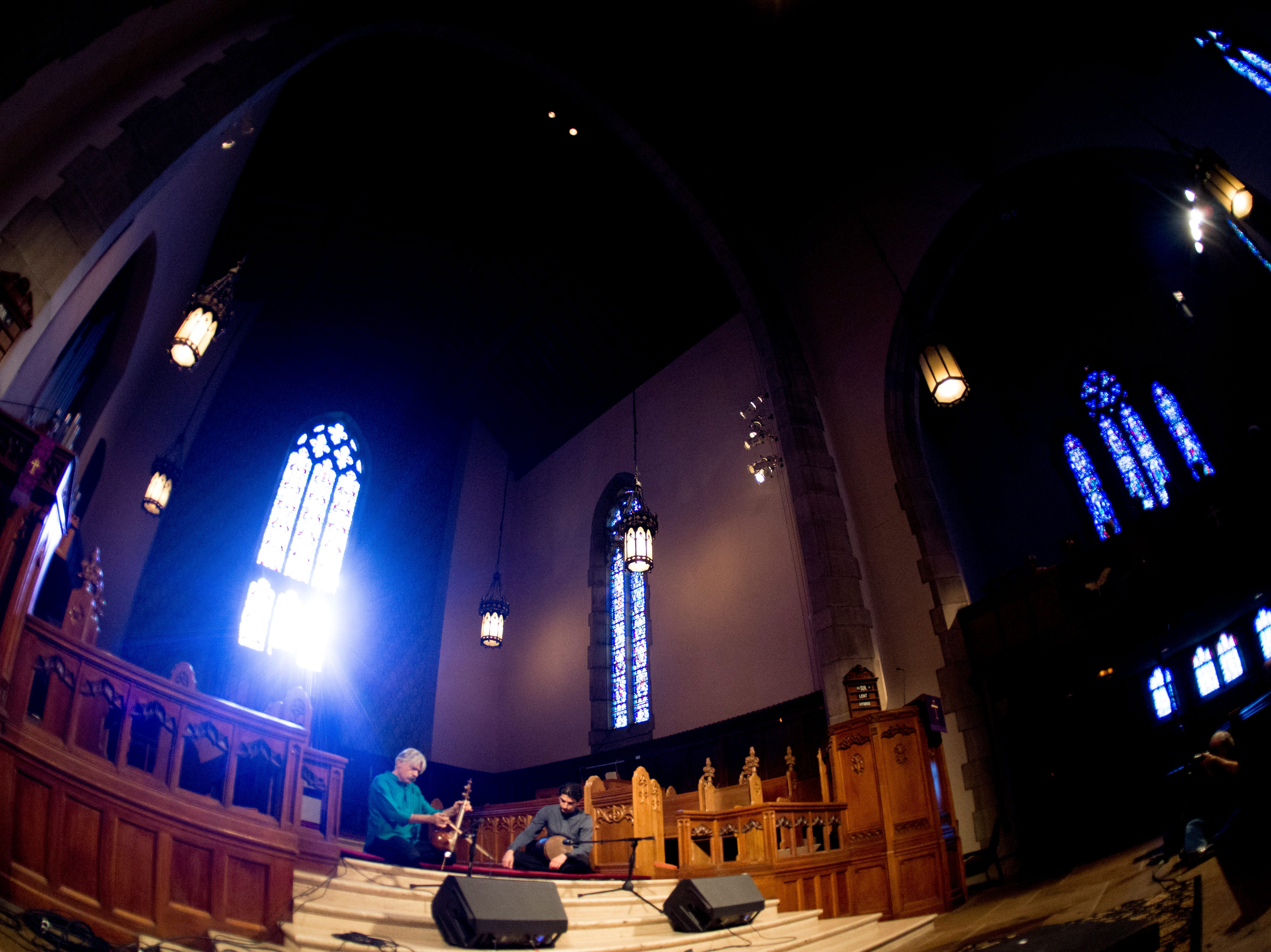 Kayhan Kalhor performs at Church Street United Methodist at Big Ears Festival 2019 in Knoxville, Tennessee on Saturday, March 23, 2019.