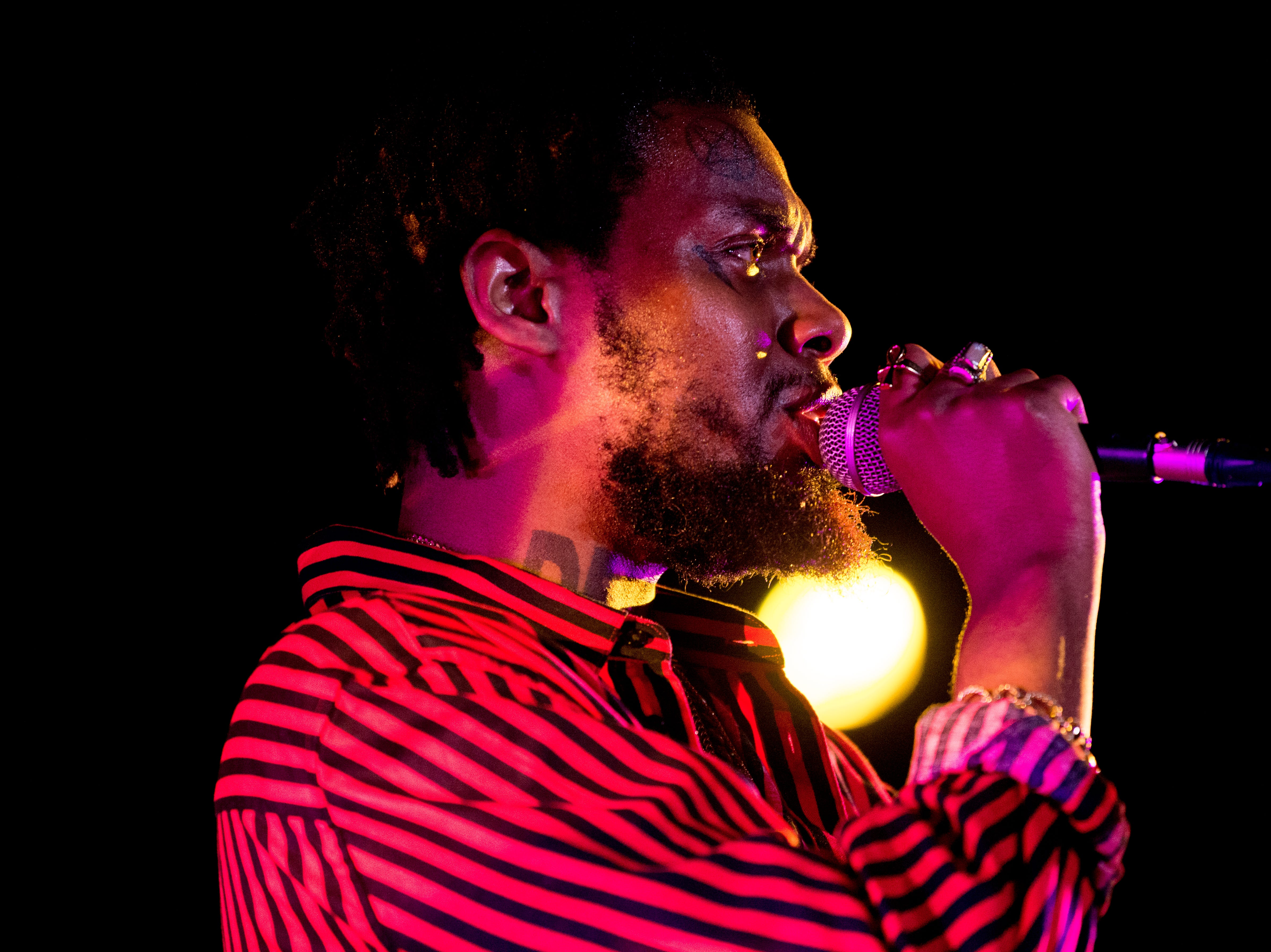 Serpentwithfeet performs at The Standard at Big Ears Festival 2019 in Knoxville, Tennessee on Saturday, March 23, 2019.