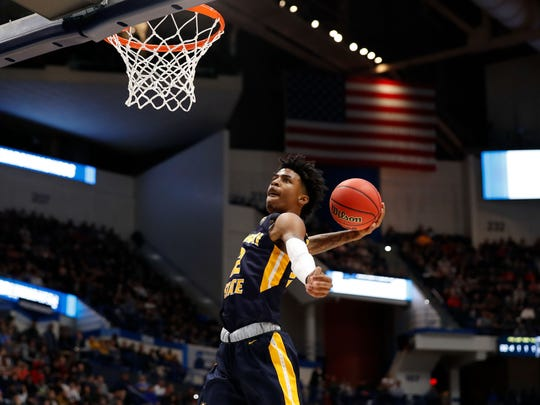 Ja Morant is high on the list for Grizzlies fans after Memphis gained the No. 2 in the draft lottery.