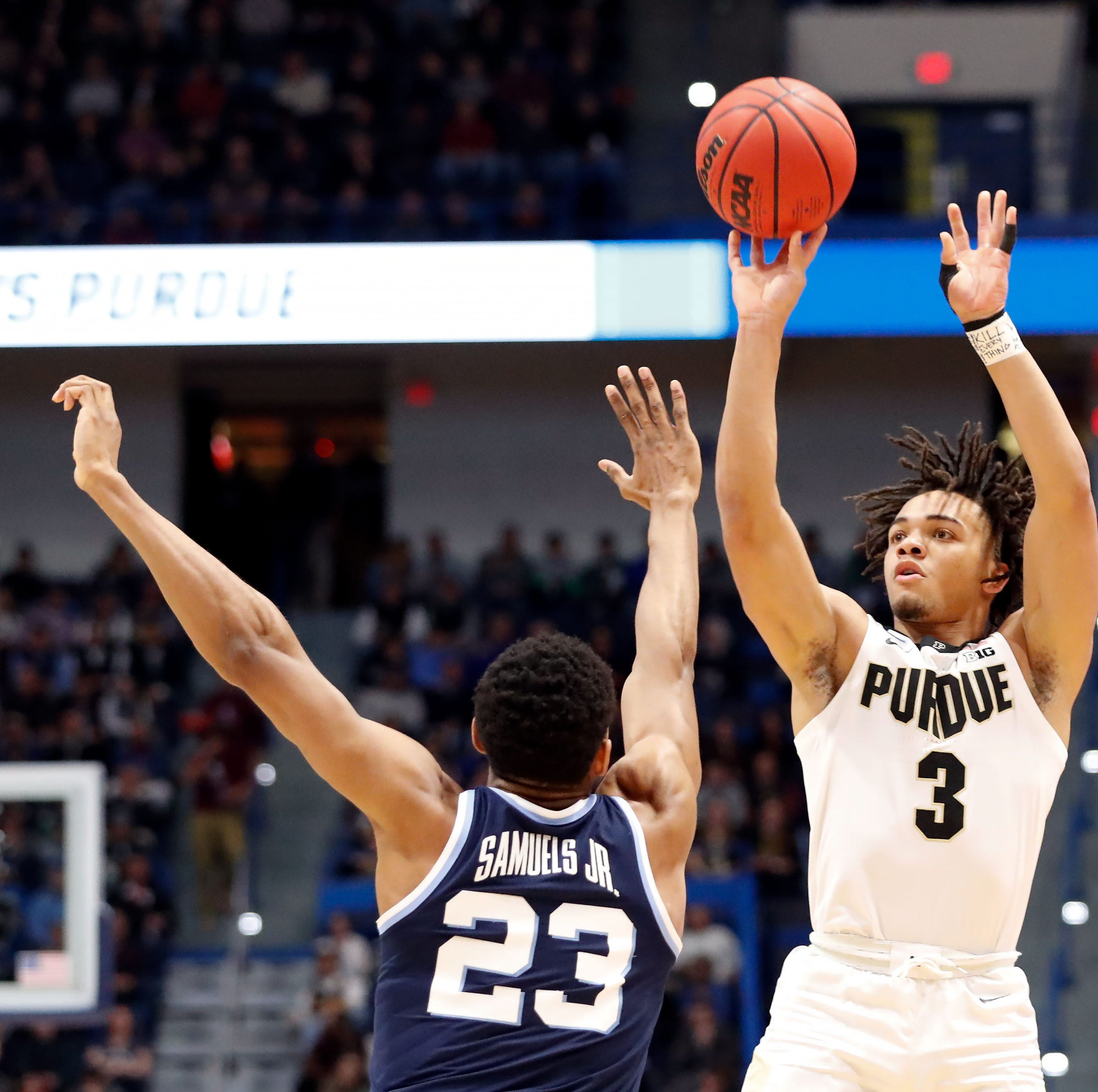 Carsen Edwards erupts, and Purdue basketball dominates Villanova to return to the Sweet 16