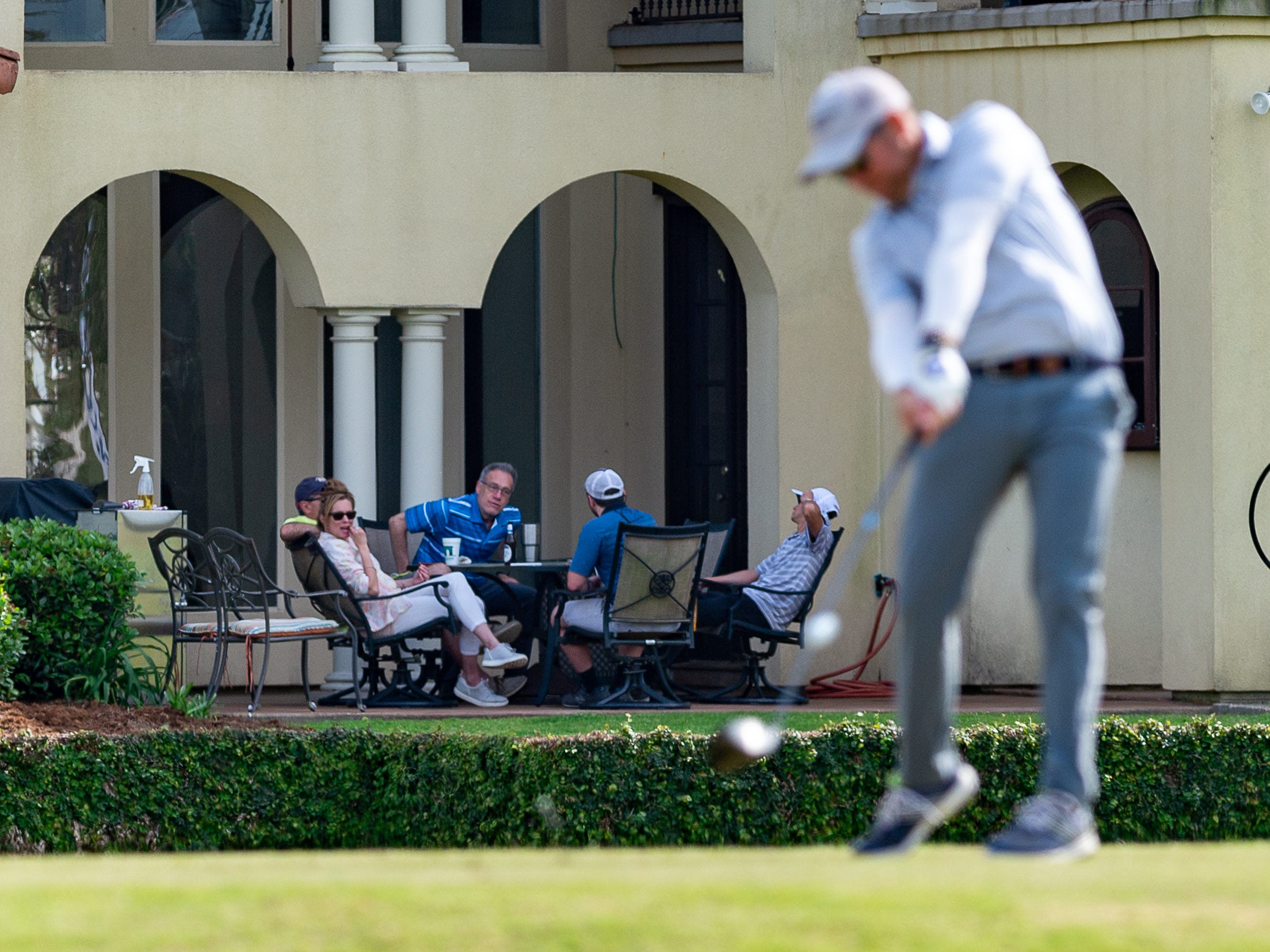 Residents at Le Triomphe during the third round of The Web.com Tour in Lafayette for the 2019 Chitimacha Louisiana Open at Le Triomphe. Saturday, March 23, 2019.