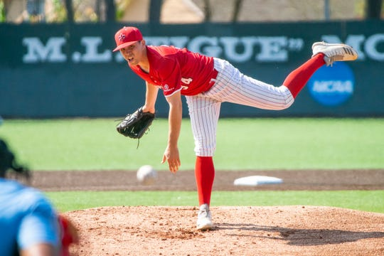 A solid 5.1-innings of relief work by Ragin' Cajuns pitcher Grant Cox was wasted in UL's 6-5 loss to Appalachian State on Sunday at The Tigue.