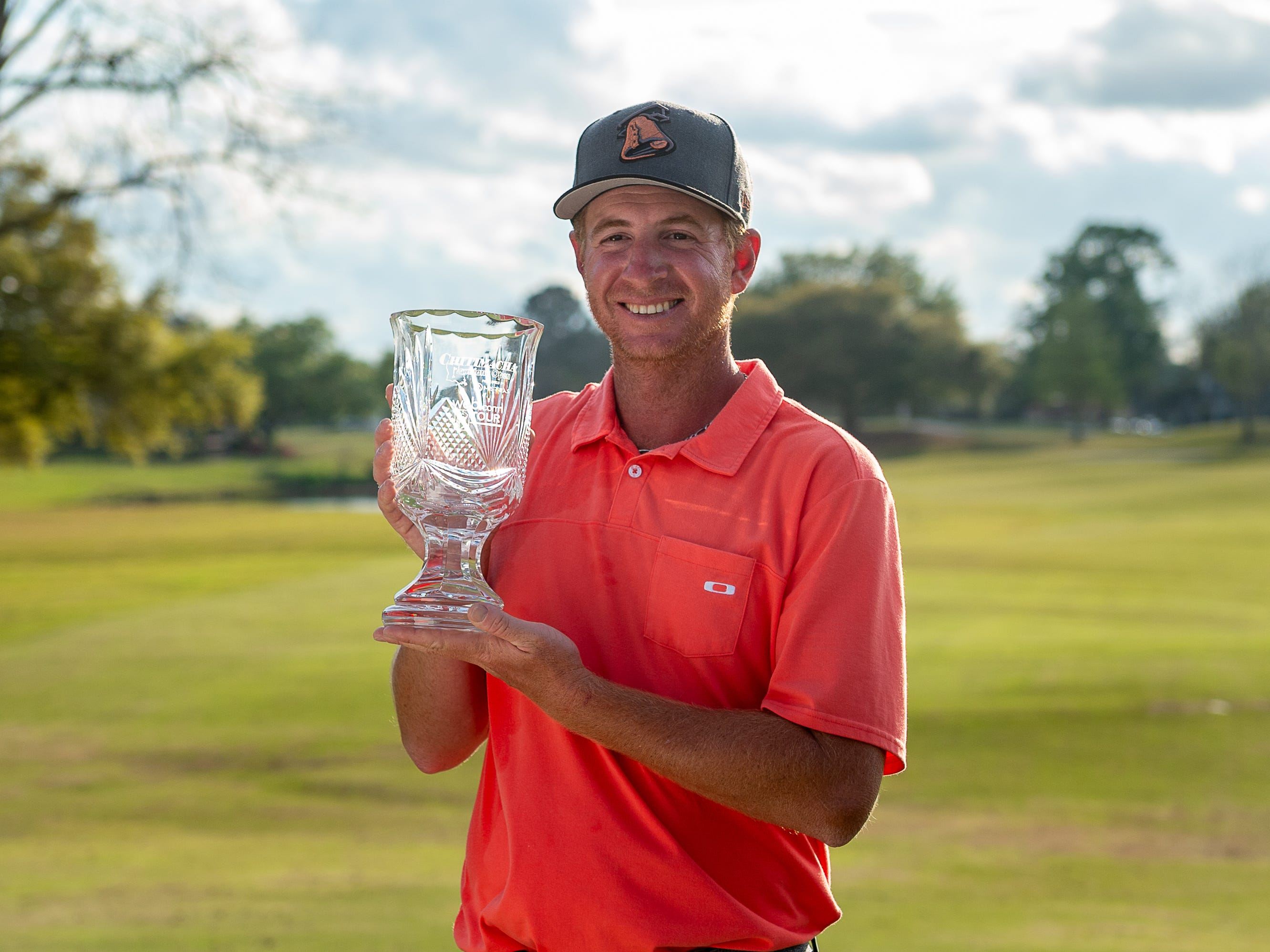 Vince Cavello wins the 2019 Chitimacha Louisiana Open presented by Mistras at Le Triomphe. Sunday, March 24, 2019.