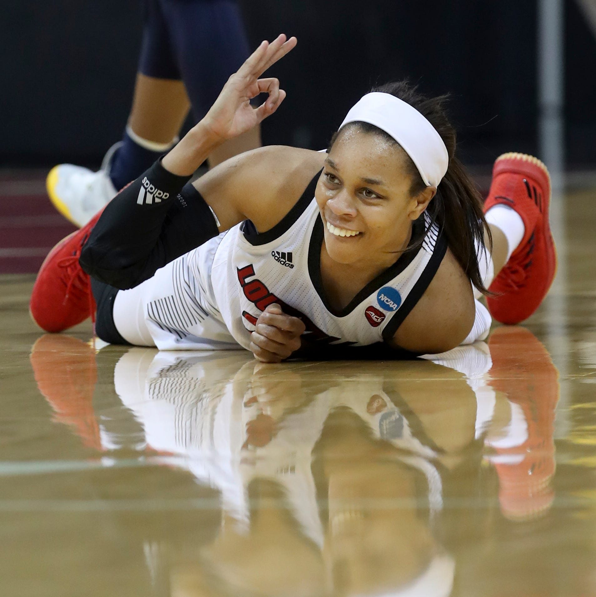 In her final home game, Durr steals the show as U of L heads to Sweet 16