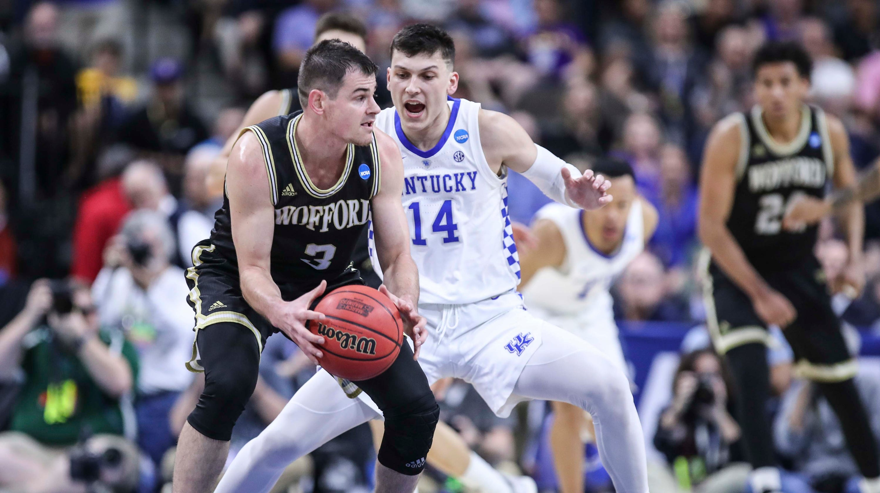 the latest 24053 65faf March Madness  NCAA Tournament Sweet 16 outlook assessed for Kentucky  Wildcats