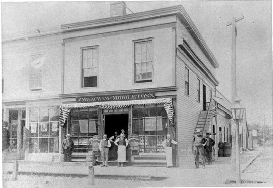 An exterior photo of 100 S. Main St. in Eaton Rapids from the late 1800s. The property has been home to a local watering hole since 1887, longer than any other building in Eaton County.