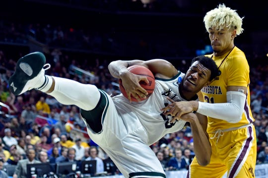 Xavier Tillman could be the key this weekend for MSU against LSU and perhaps Duke's Zion Williamson.