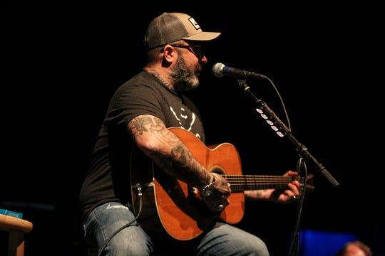 Aaron Lewis performs an acoustic show at the Rave's Eagles Ballroom on March 23, 2019.