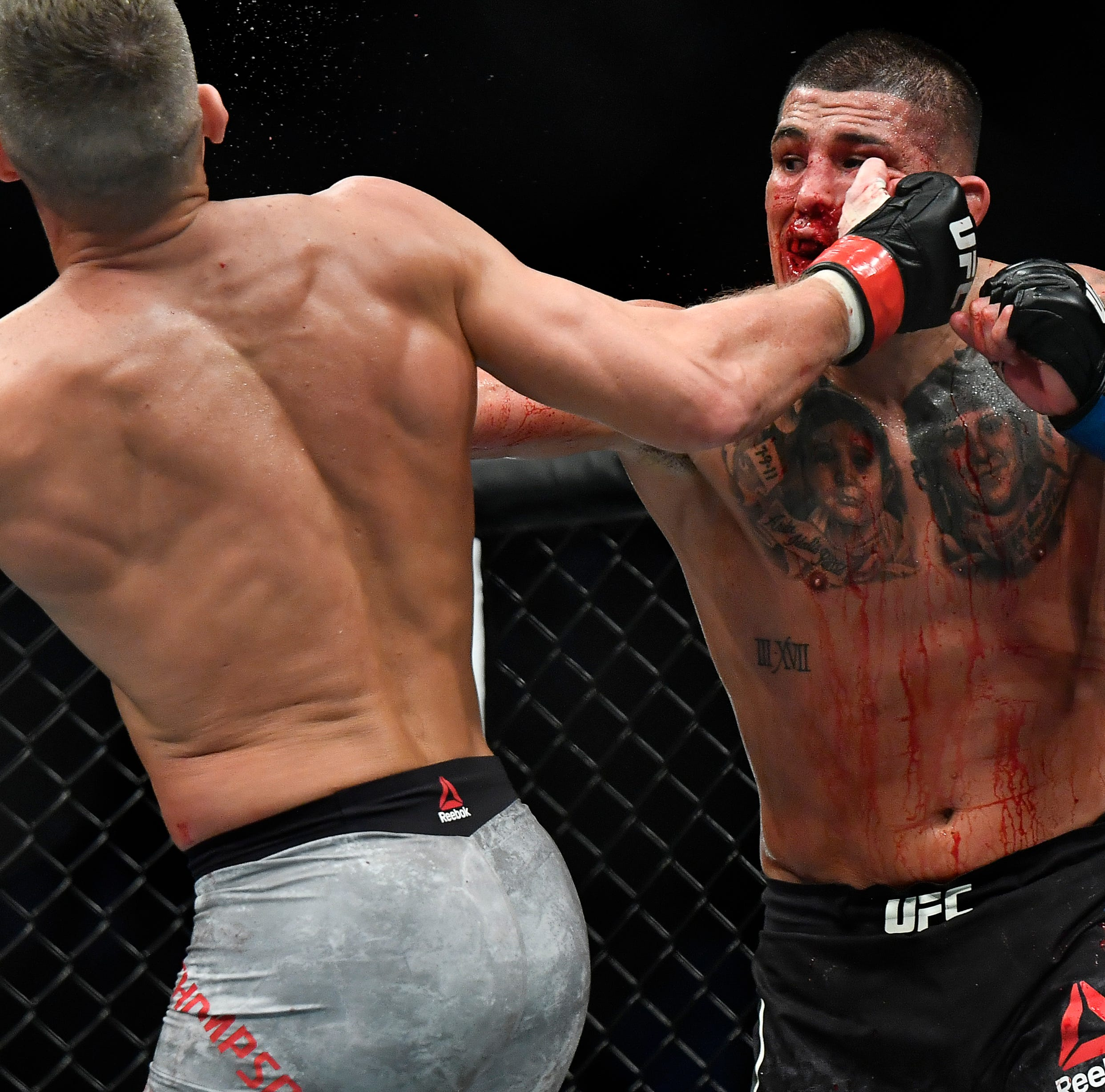 UFC Nashville: Anthony Pettis knocks out Stephen Thompson in main event
