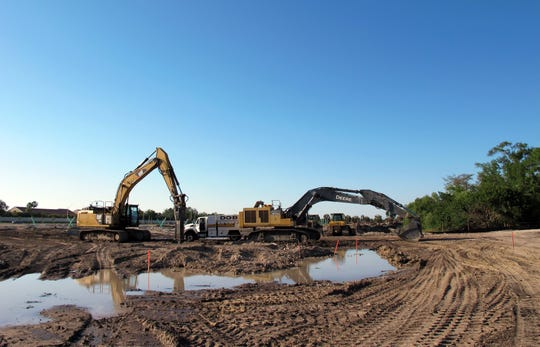 Afternoon booms heard recently in East Naples are the blasting of rocky ground to create lakes and underground utilities for Seychelles, a new Neal Communities housing development being built on Santa Barbara Boulevard.
