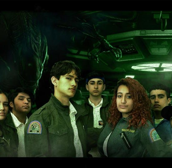NJ students performed 'Alien' for their high school play and it went viral on social media