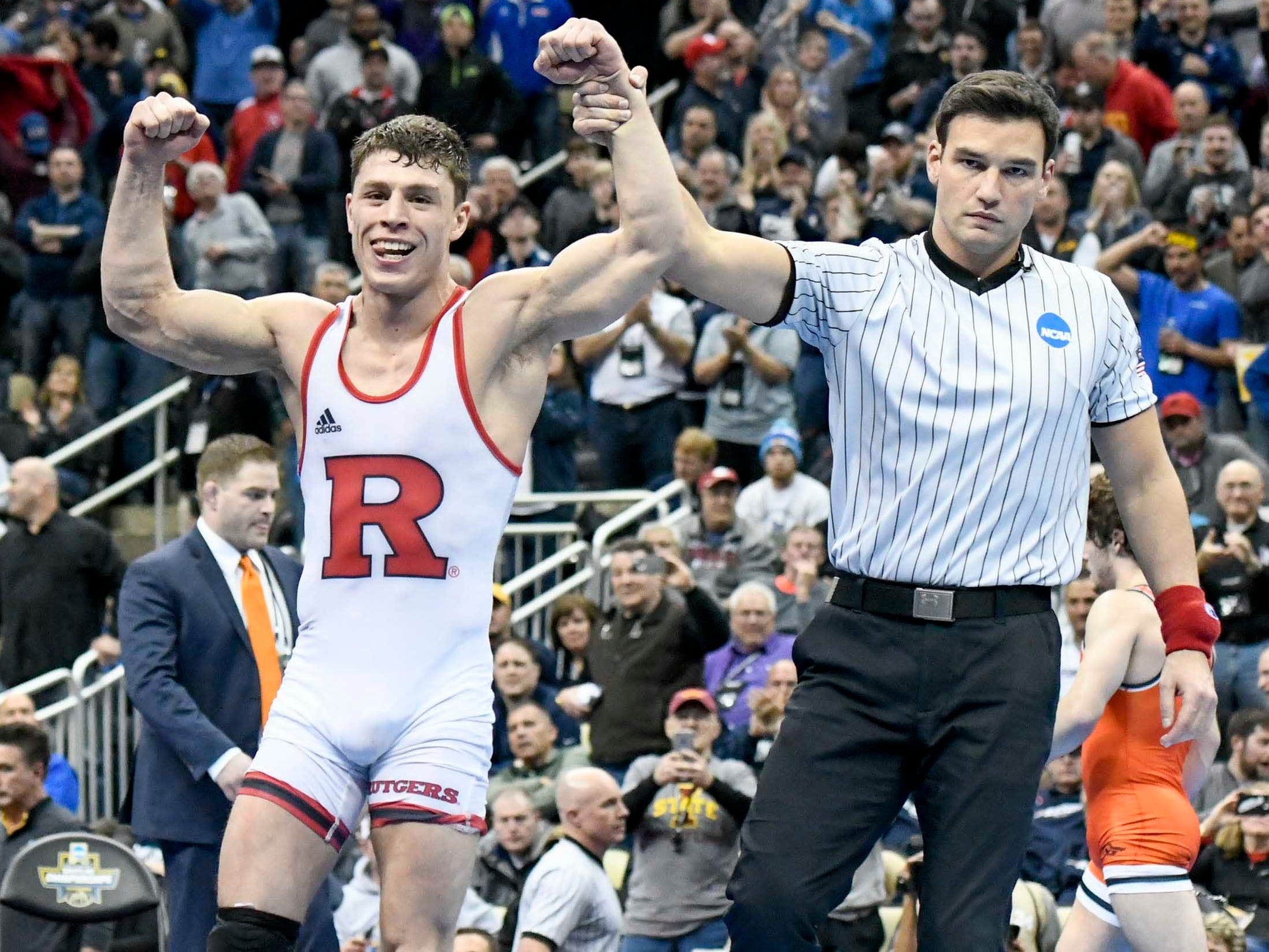 Nick Suriano brings Rutgers wrestling its first national title