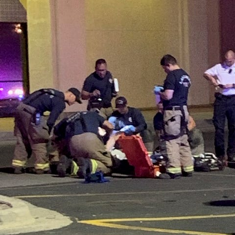 Mesilla Valley Mall stabbing incident: Witness describes seeing suspect being tased