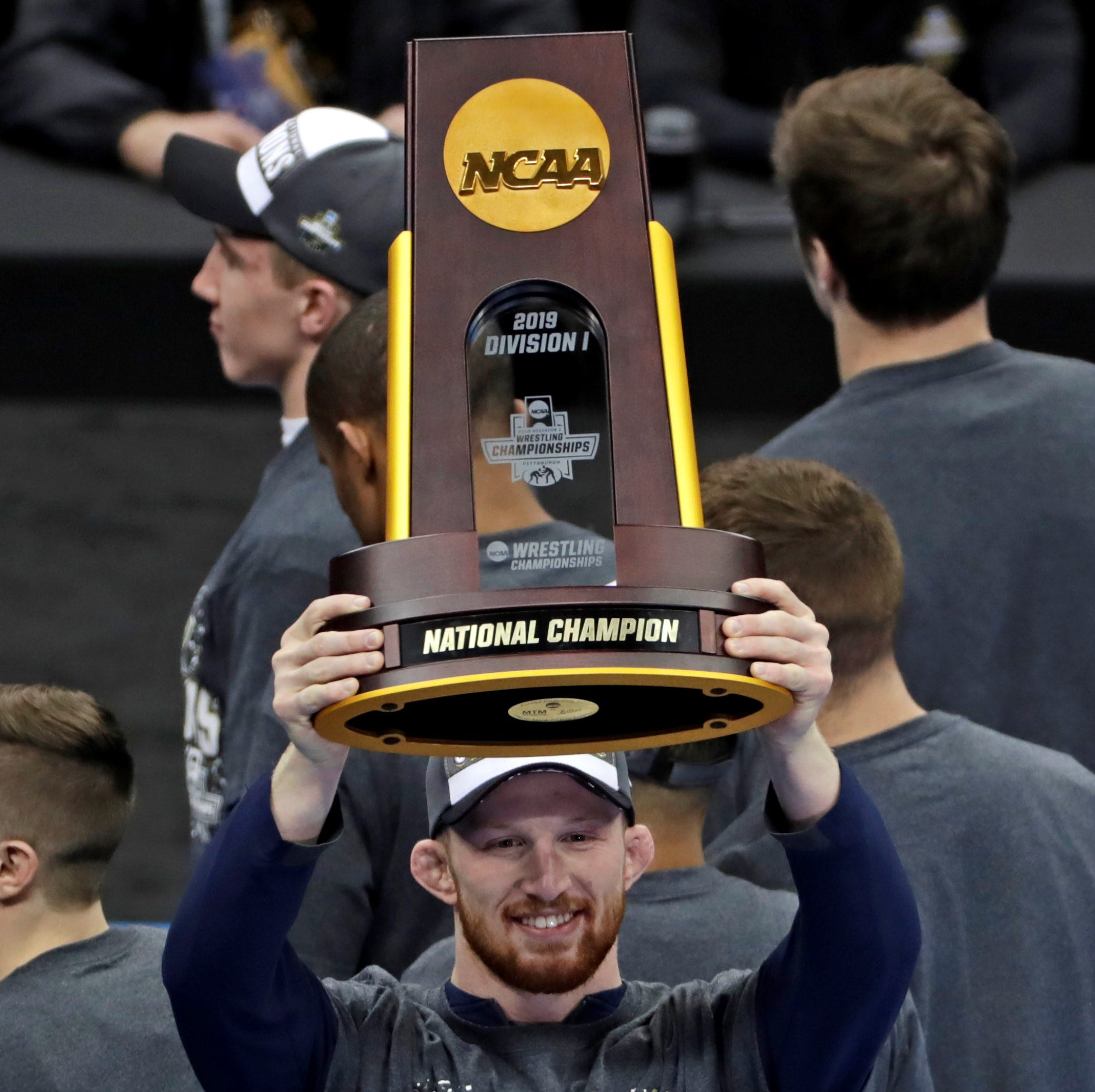 Penn State wrestling dynasty rolls on with eighth NCAA title in past nine years