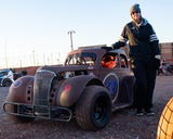 BAPS Motor Speedway hosted their 2019 racing opener. Bonnie Lee and her son Scott got the chance to race each other for the first time.