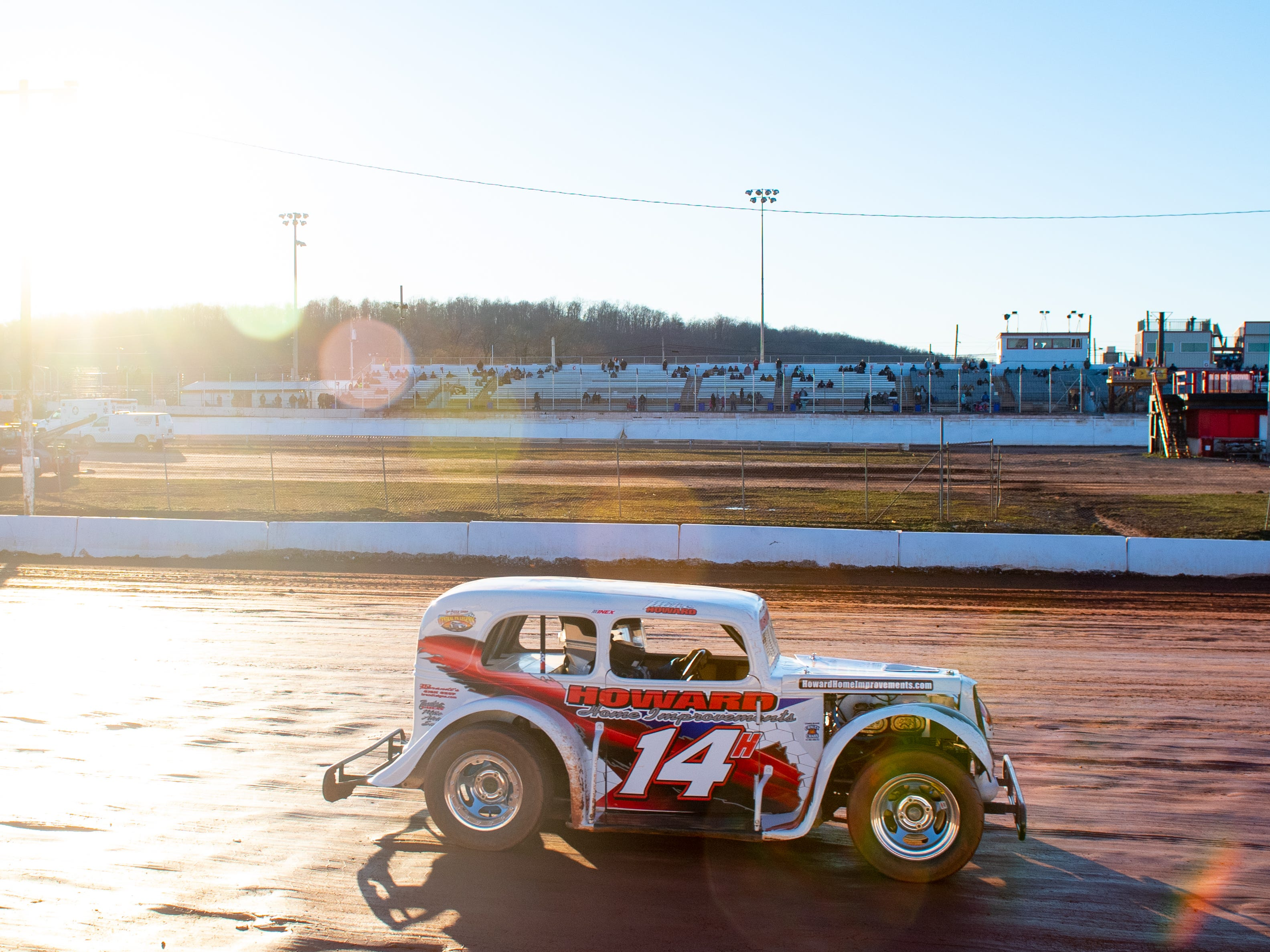 It's a beautiful day to race at the 2019 season opener at BAPS Motor Speedway, March 23, 2019.