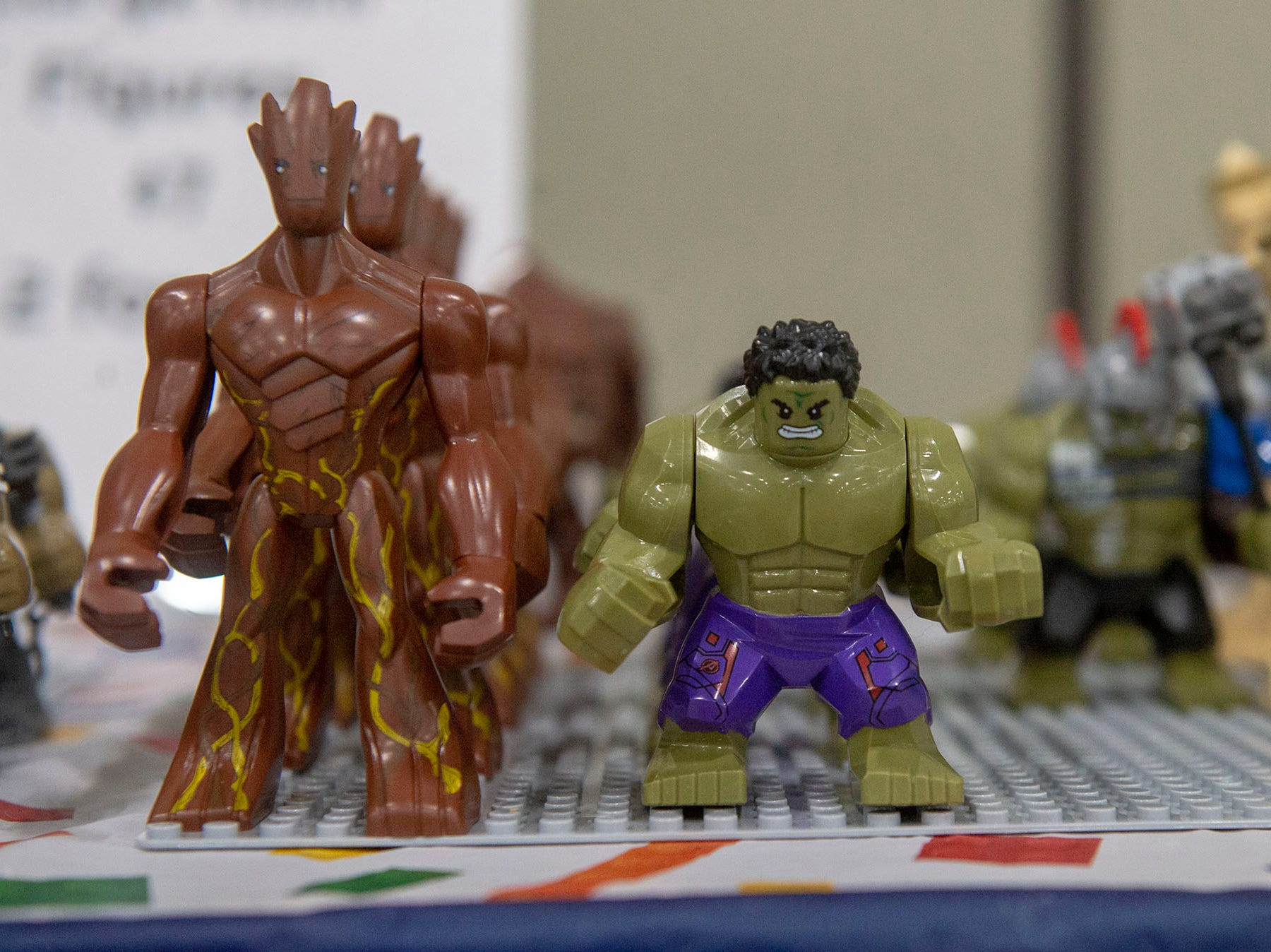 Looking for action figures? There is a wide variety for sale at the White Rose Comic Con, which runs through Sunday, March 24, 2019 at Utz Arena of the York Fairgrounds.