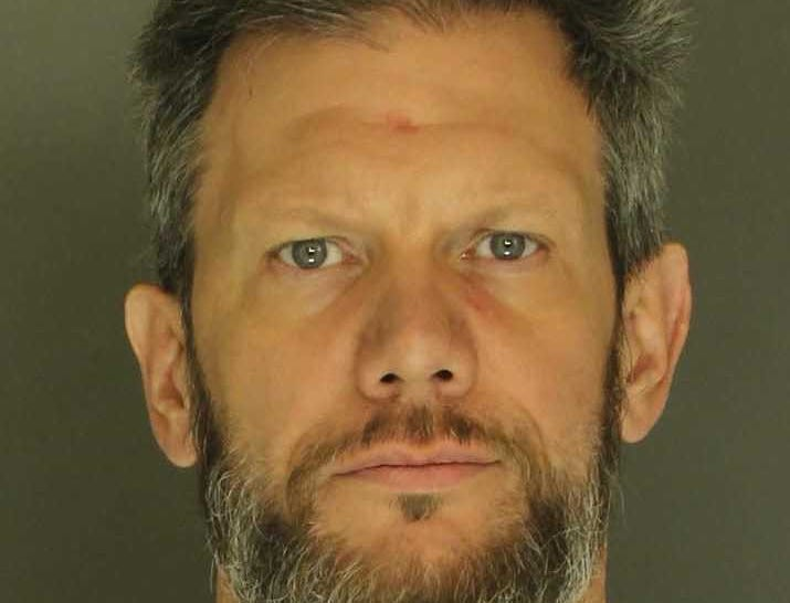 James Grimm, arrested for conspiracy to commit theft, theft and receiving stolen property.