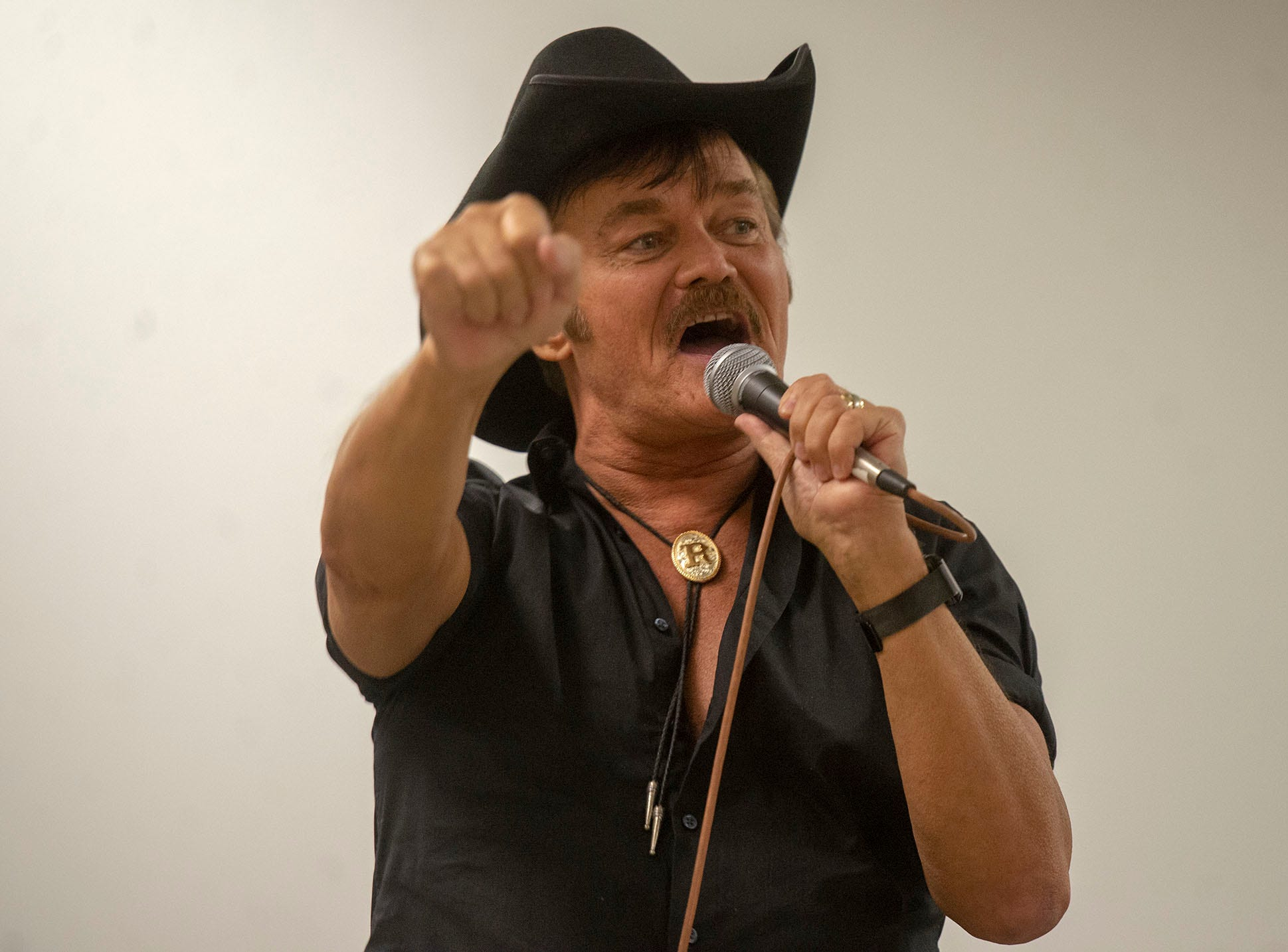 An original member of the Village People, Randy Jones was awarded a star on the Hollywood Walk of Fame in 2008. He is attending the White Rose Comic Con, which runs through Sunday, March 24, 2019 at Utz Arena of the York Fairgrounds.