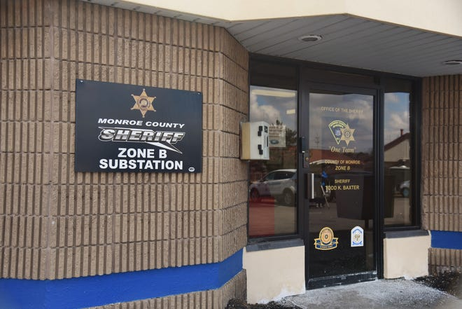 The Monroe County Sheriff's Office Zone B Substation, 245 Summit Point Dr. in Henrietta. March 19, 2019.