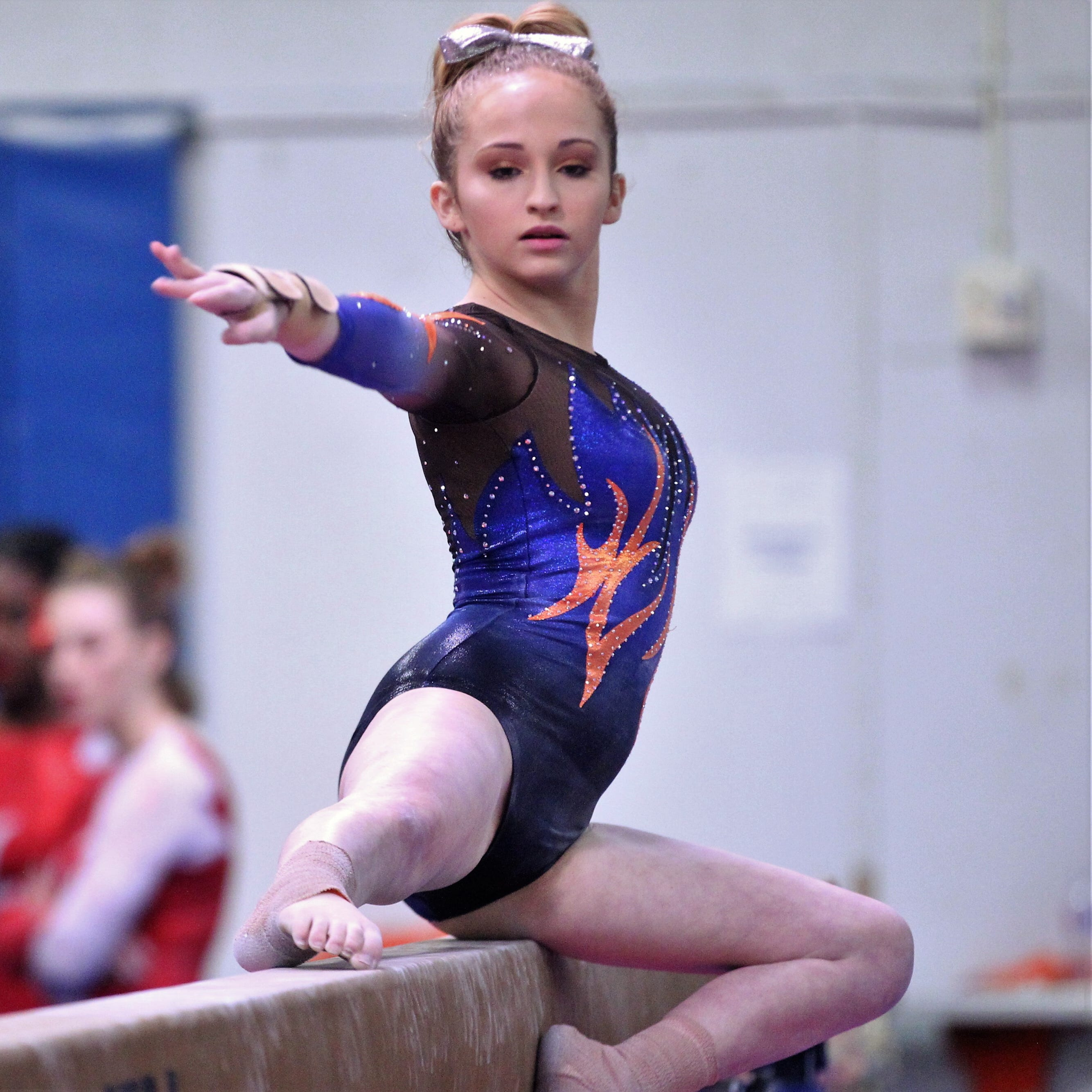 DISTRICT 2-6A GYMNASTICS: San Angelo Central girls uphold No. 1 ranking