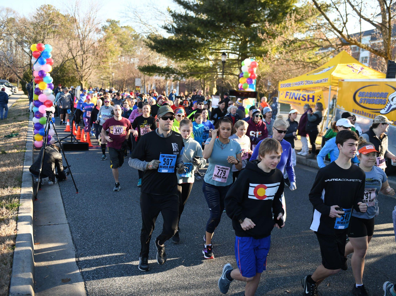 The 16th Tim Kennard 10 mile River Run & 5k Run/Walk kicked off on Sunday, March 24, 2019 at the Salisbury University Guerrieri Center.