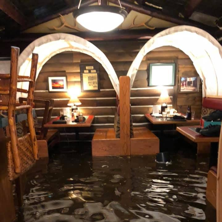 """We've never seen anything like this:"" Waters recede at Anton's"