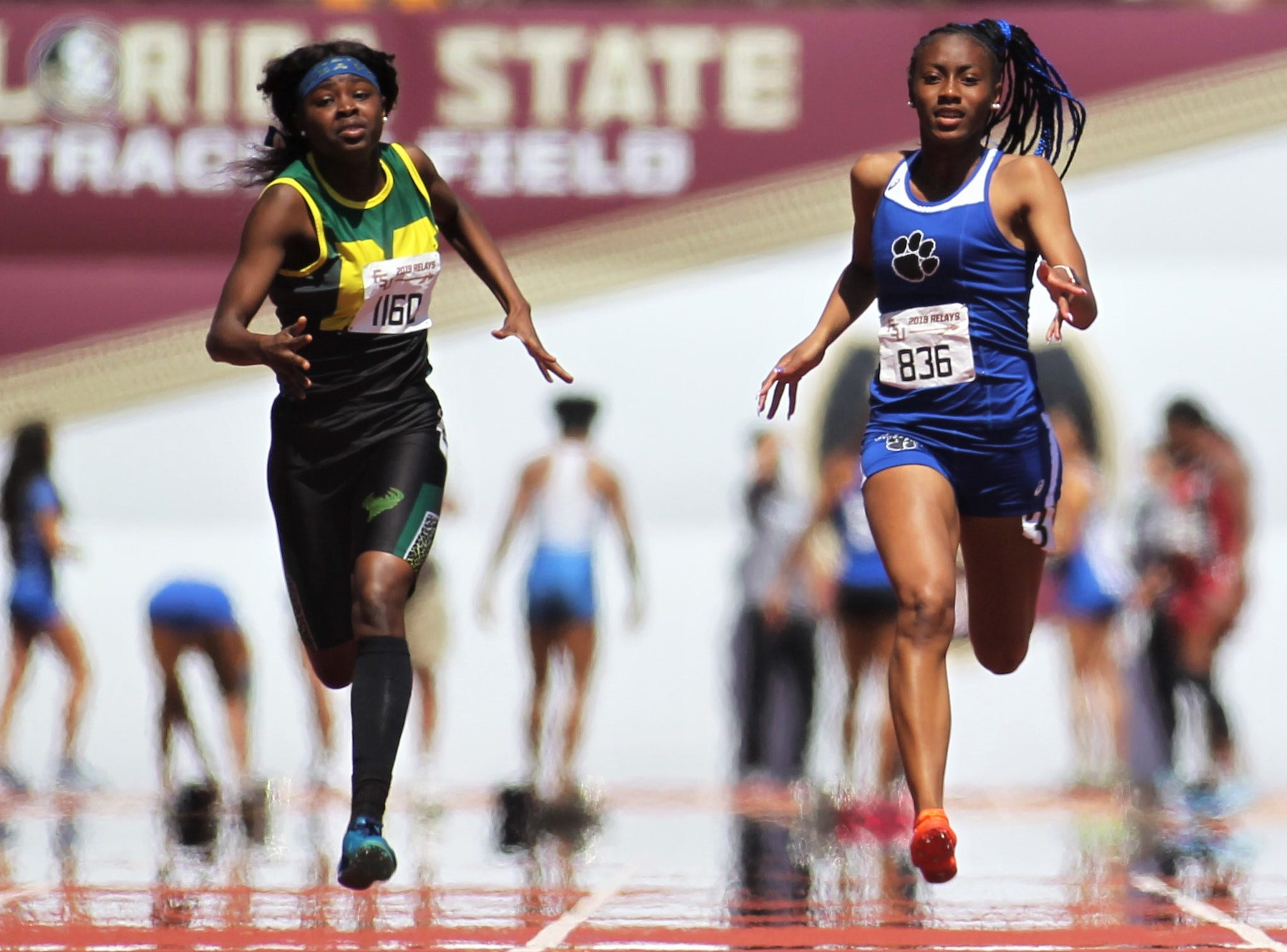 The 40th annual FSU Relays at Mike Long Track on Saturday, March 23, 2019.