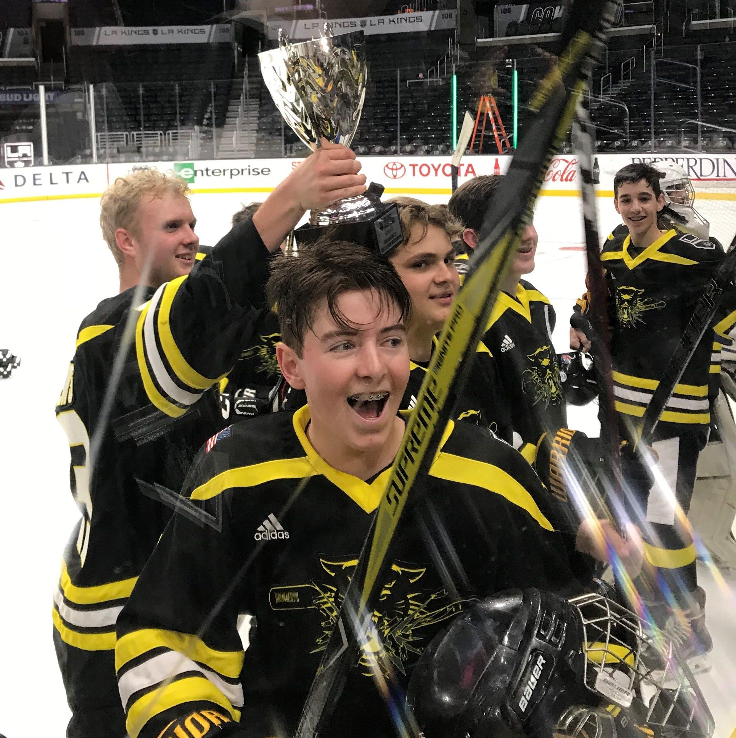 Newbury Park JV team wins Kings High School Hockey League championship game