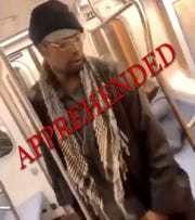Marc Gomez, of Yonkers, was arrested by the NYPD in connection with a vicious attack of an elderly woman on a NYC subway.