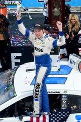 Brad Keselowski wins STP 500 at Martinsville Speedway