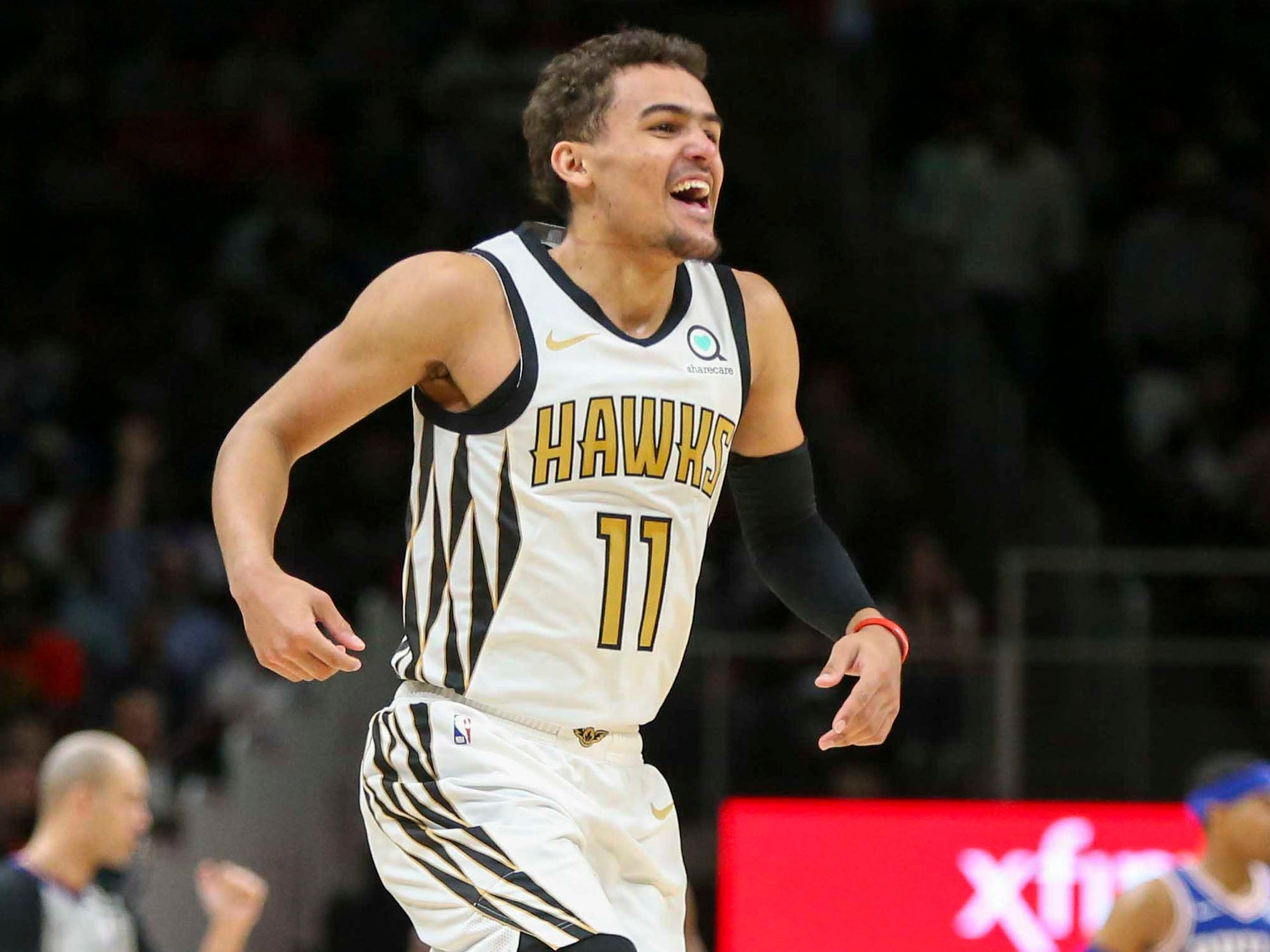 Trae Young sinks last-second winner to lifts Hawks over 76ers