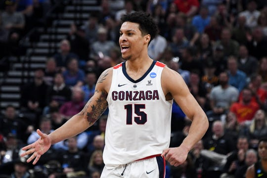 Gonzaga forward Brandon Clarke led the Zags into the Sweet 16.