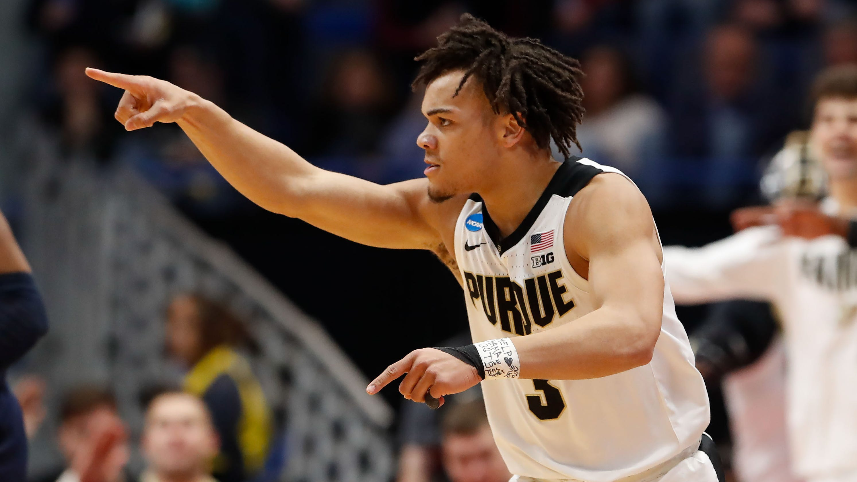 Purdue hammers defending champion Villanova in second round of NCAA tournament