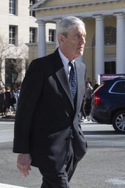 Special counsel Robert Mueller outside his church on March 24, 2019 in Washington, D.C.