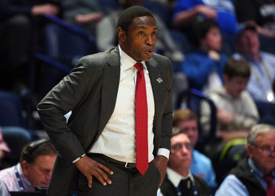 Avery Johnson ends his four-year tenure at Alabama with a 75-62 overall record, including a losing 34-38 mark in Southeastern Conference play.