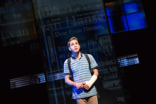 "Ben Platt won a Tony for his Broadway debut in ""Dear Evan Hansen."""