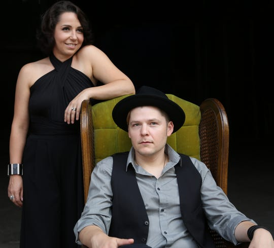 "New Orelans jazz singer Tiffany Pollack and her biological cousin Eric Johanson, a New Orleans based blues guitarist originally from Central Louisiana, will have a CD release party at Spirits, Food & Friends at 9 p.m. on Saturday, March 30, 2019 for their album, ""Blues in My Blood."""