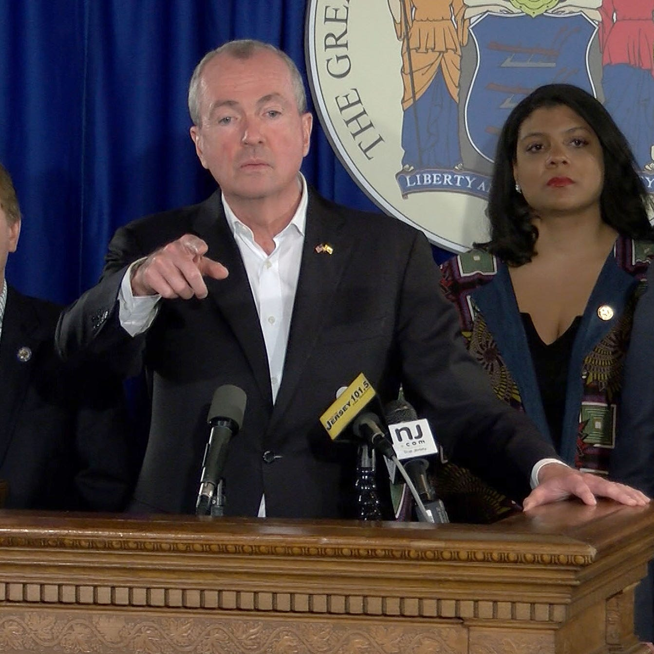 NJ marijuana legalization: Watch Gov. Phil Murphy react; says 'we are not defeated'