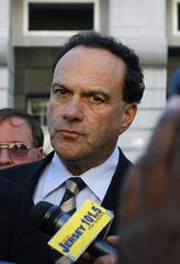 Former Toms River Regional Schools Superintendent Michael Ritacco was sentenced to more than 11 years in federal prison in 2012 after pleading guilty to accepting between $1 million and $2 million in bribes. Ritacco is seen outside federal court in Newark in this 2010 file photo.